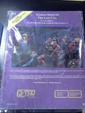 Dungeons and Dragons 1st ed: Dungeon Module B4: The Lost City - Used
