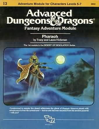 Dungeons and Dragons 1st ed: Fantasy Adventure Module: Pharaoh - Used