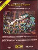 Dungeons and Dragons 1st ed: The Lost Caverns of Tsojcanth - Used