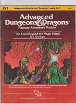 Dungeons and Dragons 1st ed: EX2: The Land Beyond the Magic Mirror - Used