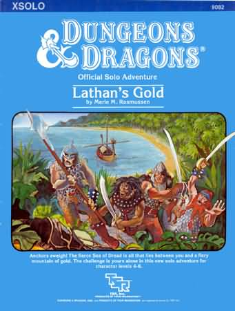 Dungeons and Dragons Basic: Lathans Gold - Used