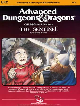 Dungeons and Dragons 1st ed: The Sentinel - Used