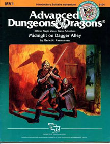Dungeons and Dragons 1st Ed: Midnight on Dagger Alley - USED