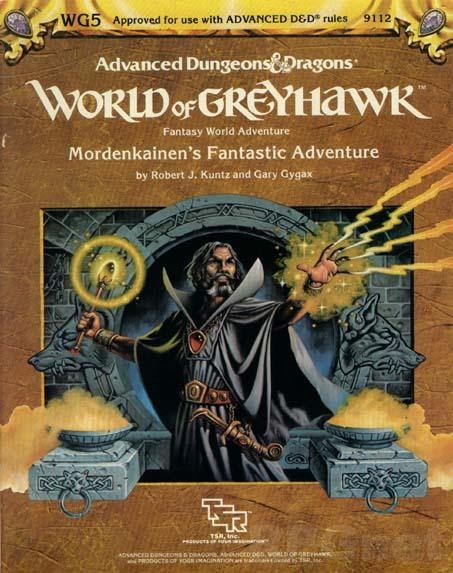Dungeons and Dragons 1st ed: World of Greyhawk: Mordenkainens Fantastic Adventure