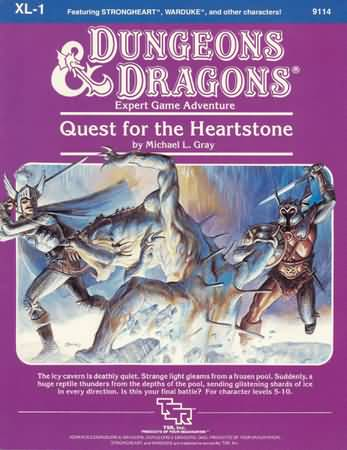 Dungeons and Dragons: Basic: Quest for the Heartstone - Used