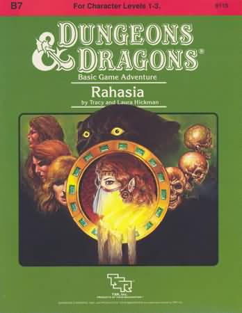 Dungeons and Dragons: Basic: Rahasia - Used