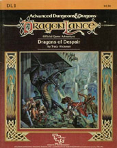 Dungeons and Dragons 1st ed: DragonLance: Dragons of Despair