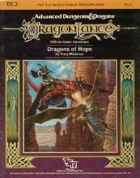 Dungeons and Dragons 1st ed: DragonLance: Dragons of Hope - Used