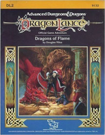 Dungeons and Dragons 1st ed: DragonLance: Dragons of Flame - Used