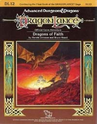 Dungeons and Dragons 1st ed: DragonLance: Dragons of Faith - Used
