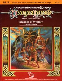 Dungeons and Dragons 1st ed: DragonLance: Dragons of Mystery - Used