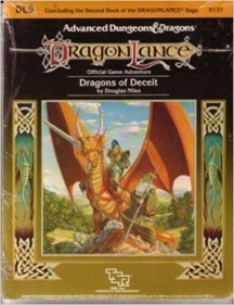 Dungeons and Dragons 1st Ed: DragonLance: Dragons of Deceit - Used