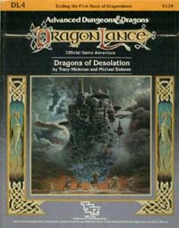 Dungeons and Dragons 1st ed: DragonLance: Dragons of Desolation - Used