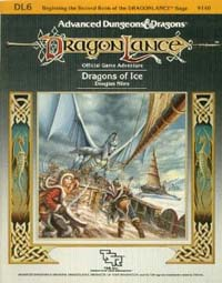 Dungeons and Dragons 1st ed: DragonLance: Dragons of Ice - Used