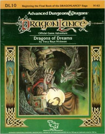Dungeons and Dragons 1st Ed: DragonLance: Dragons of Dreams - Used