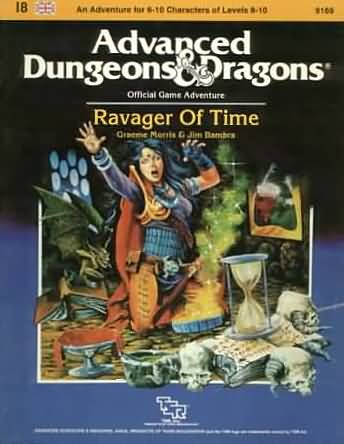 Dungeons and Dragons 1st ed: Ravager of Time - Used