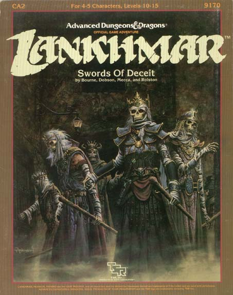 Dungeons and Dragons 1st ed: Lankhmar: Swords of Deceit - Used