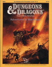 Dungeons and Dragons 1st ed: Adventures in Blackmoor