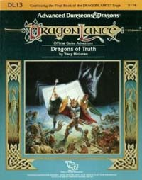 Dungeons and Dragons 1st ed: DragonLance: Dragons of Truth - Used