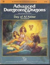 Dungeons and Dragons 1st ed: Day of Al Akbar - Used