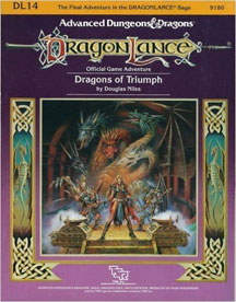 Dungeons and Dragons 1st ed: DragonLance: Dragons of Triumph - Used