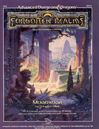 Dungeons and Dragons 2nd ed: Forgotten Realms: Moonshae