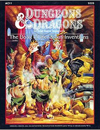 Dungeons and Dragons 2nd ed: The Book of Wondrous Inventions - Used