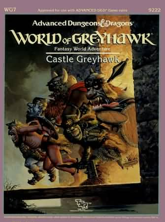 Dungeons and Dragons 1st ed: World of Greyhawk: Castle Greyhawk - Used