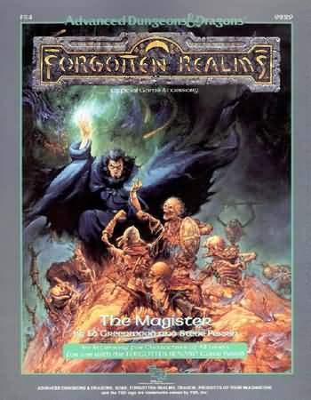 Dungeons and Dragons 2nd ed: Forgotten Realms: the Magister