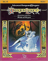 Dungeons and Dragons 1st ed: DragonLance: Mists of Krynn - Used