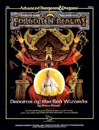 Dungeons and Dragons 2nd ed: Forgotten Realms: Dreams of the Red Wizards
