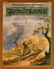 Dungeons and Dragons 2nd ed: Forgotten Realms: Lords of Darkness - Used