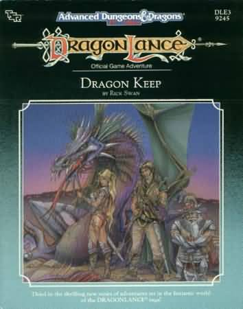Dungeons and Dragons 2nd ed: Dragon Lance: Dragon Keep - Used