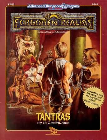 Dungeons and Dragons 2nd ed: Forgotten Realms: Tantras - USED