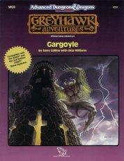 Dungeons and Dragons 2nd ed: Greyhawk Adventures: Gargoyle