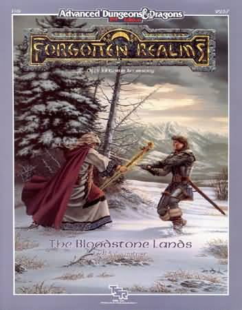 Dungeons and Dragons 2nd ed: Forgotten Realms: the Bloodstone Lands