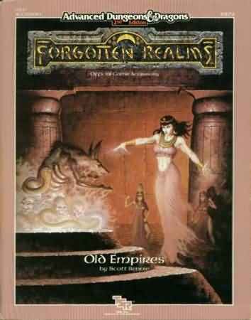Dungeons and Dragons 2nd ed: Forgotten Realms: Old Empires