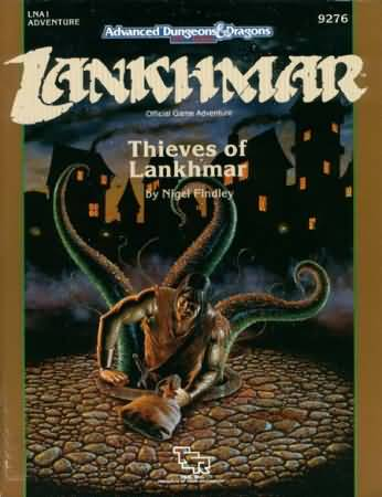 Dungeons and Dragons 2nd ed: Lankhmar: Thieves of Lankhmar - Used