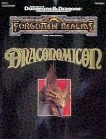 Dungeons and Dragons 2nd ed: Forgotten Realms: Draconomicon - Used
