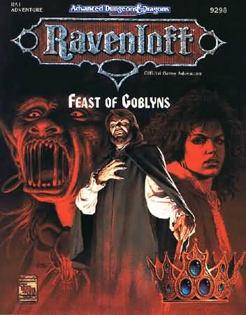 Dungeons and Dragons 2nd ed: Ravenloft: Feast of Goblyns - Used