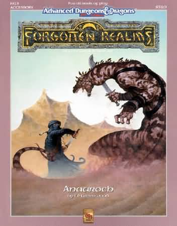 Dungeons and Dragons 2nd ed: Forgotten Realms: Anauroch - Used
