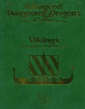 Dungeons and Dragons 2nd ed: Vikings Campaign Sourcebook - Used