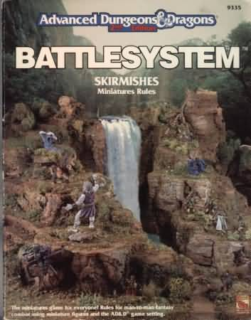 Dungeons and Dragons 2nd ed: Battlesystem: Skirmishes Miniatures Rules - Used