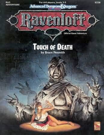 Dungeons and Dragons 2nd ed: Ravenloft: Touch of Death - Used