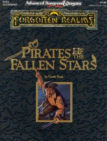 Dungeons and Dragons 2nd ed: Forgotten Realms: Pirates of the Fallen Stars - Used