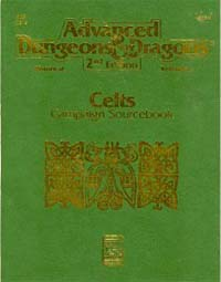 Dungeons and Dragons 2nd ed: Celts Campaign Sourcebook - Used