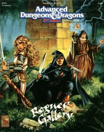 Dungeons and Dragons 2nd ed: Rogues Gallery - Used