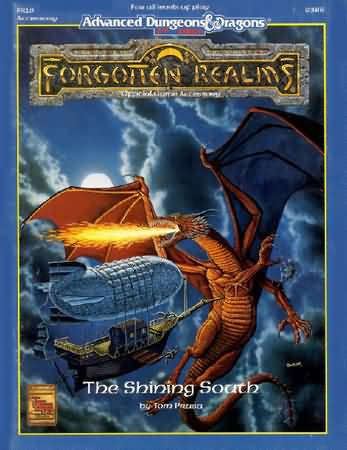 Dungeons and Dragons 2nd ed: Forgotten Realms: the Shining South - Used