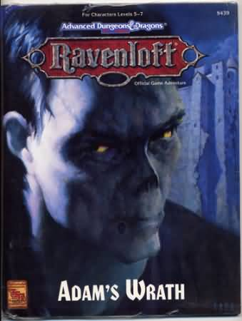 Dungeons and Dragons 2nd ed: Ravenloft: Adams Wrath - Used