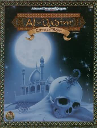 Dungeons and Dragons 2nd ed: Al-Qadim: Cities of Bone Box SET - Used
